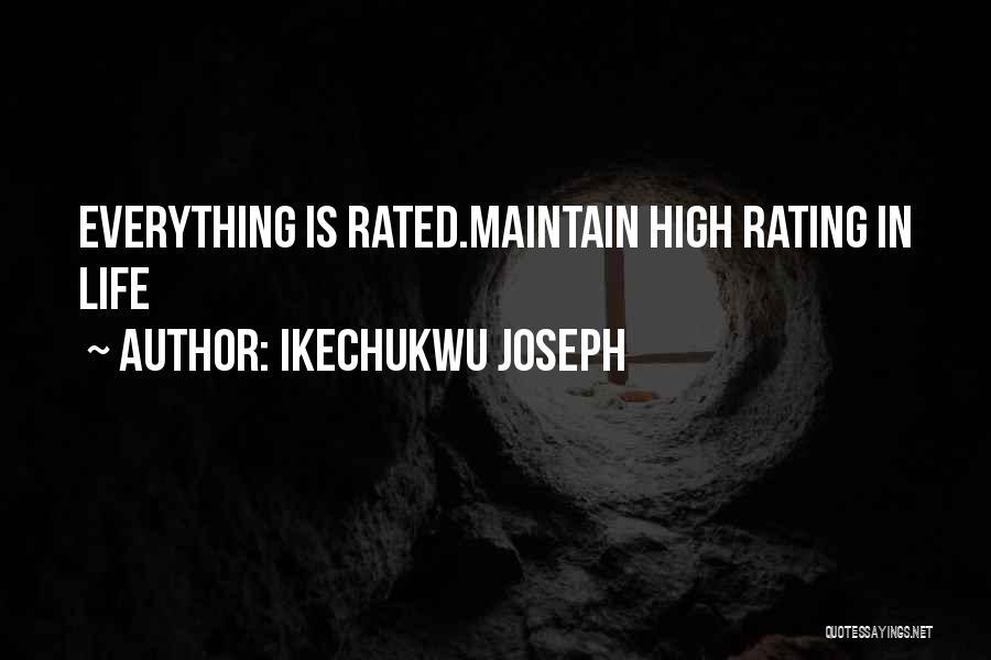 Ikechukwu Joseph Quotes 1457056