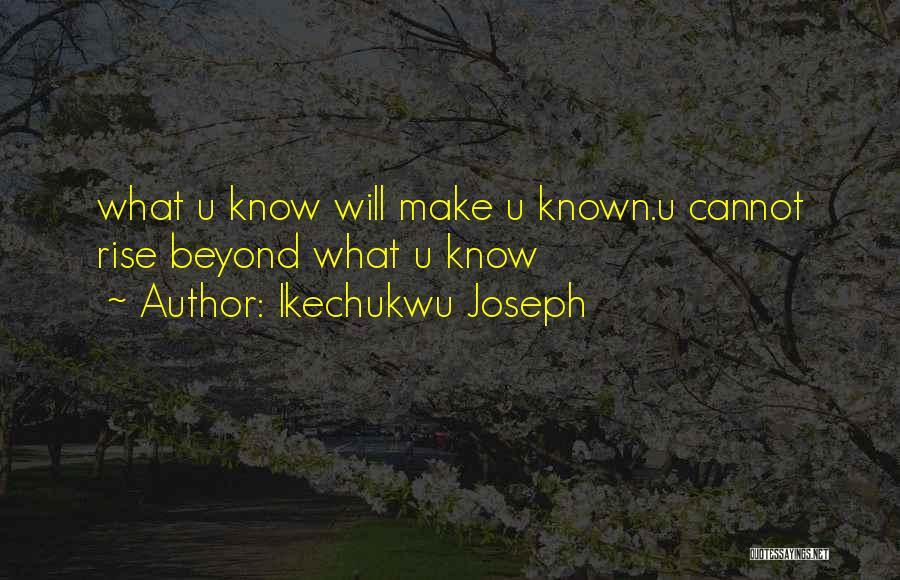 Ikechukwu Joseph Quotes 1675383