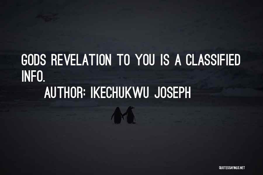 Ikechukwu Joseph Quotes 2144532