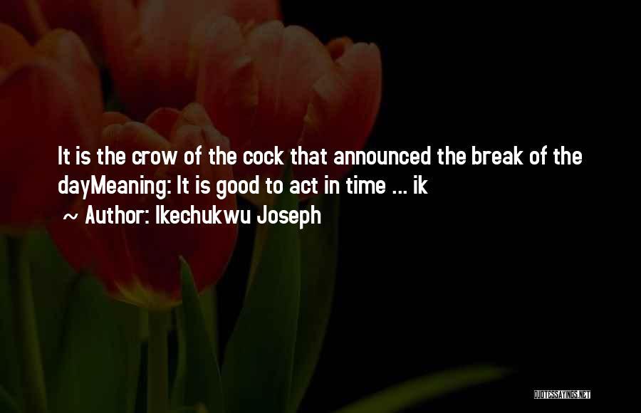 Ikechukwu Joseph Quotes 214534