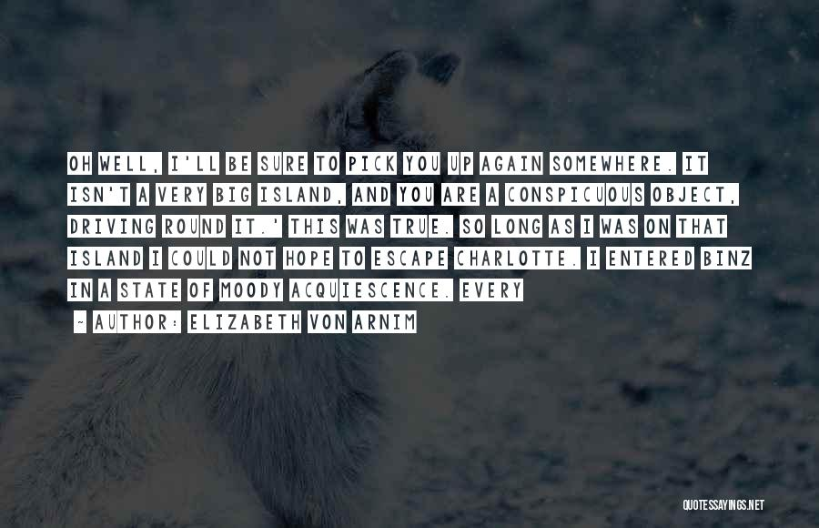 I'll Be True To You Quotes By Elizabeth Von Arnim