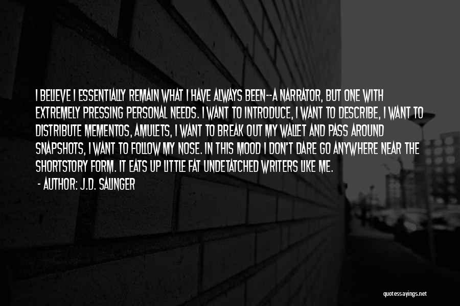 I'll Follow You Anywhere Quotes By J.D. Salinger