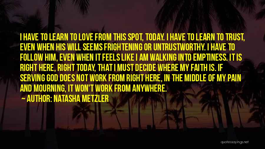 I'll Follow You Anywhere Quotes By Natasha Metzler