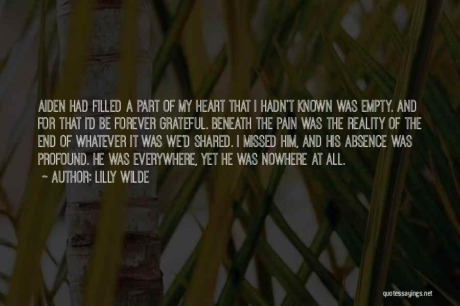 I'll Love Him Forever Quotes By Lilly Wilde