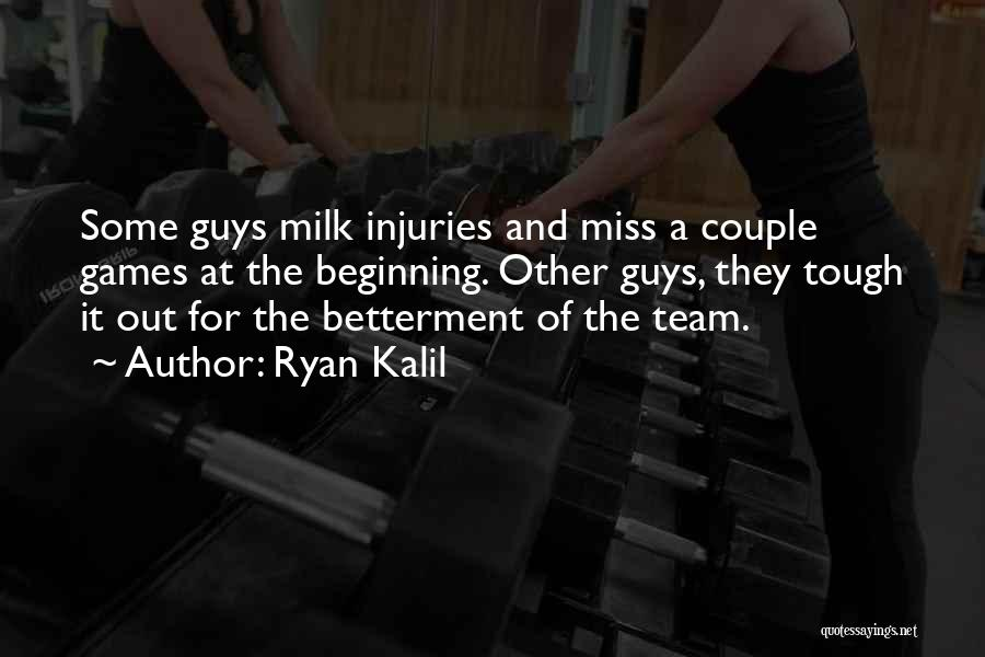 I'll Miss You Guys Quotes By Ryan Kalil