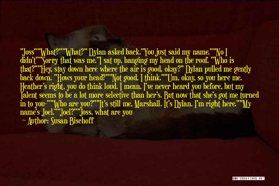 I'll Never Be Okay Quotes By Susan Bischoff