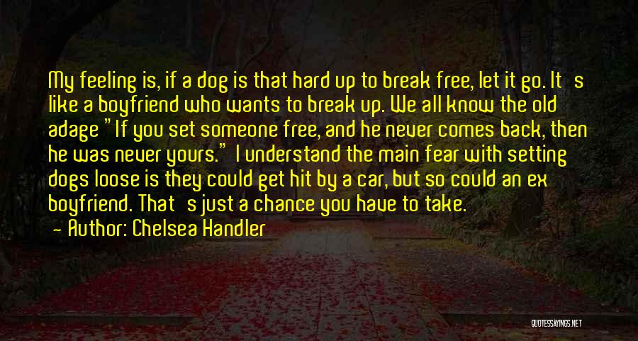 I'll Never Break Up With You Quotes By Chelsea Handler