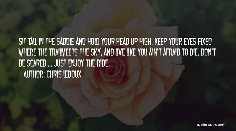I'll Ride For You Die For You Quotes By Chris LeDoux