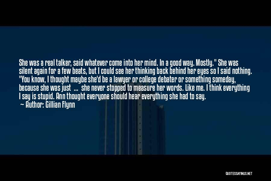 I'll See You Again Someday Quotes By Gillian Flynn