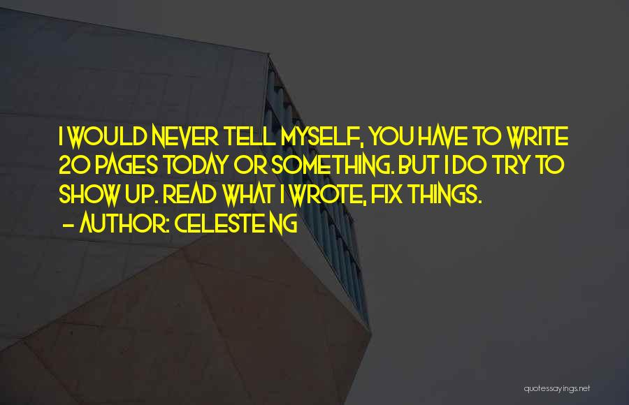 I'll Try To Fix You Quotes By Celeste Ng