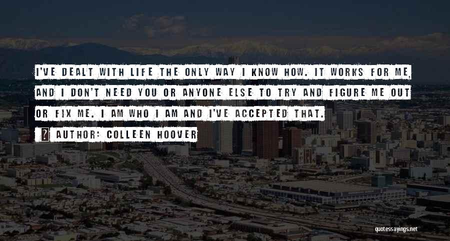 I'll Try To Fix You Quotes By Colleen Hoover