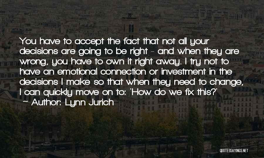 I'll Try To Fix You Quotes By Lynn Jurich