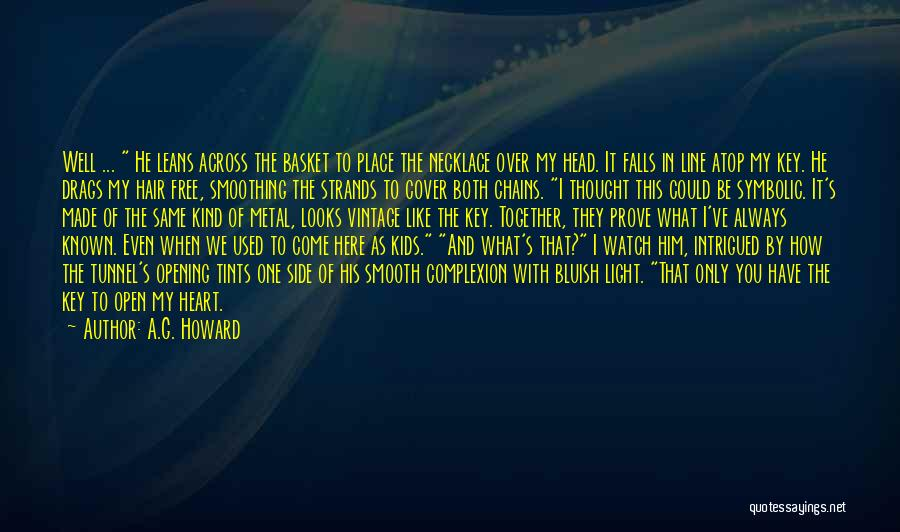 I'll Watch Over You Quotes By A.G. Howard
