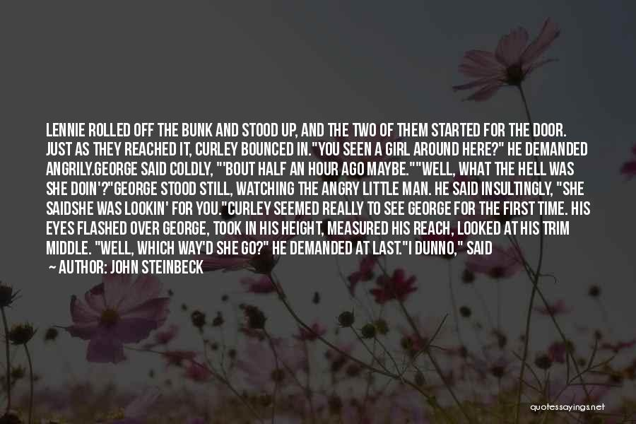 I'll Watch Over You Quotes By John Steinbeck