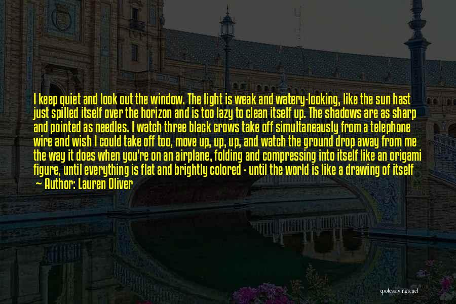 I'll Watch Over You Quotes By Lauren Oliver