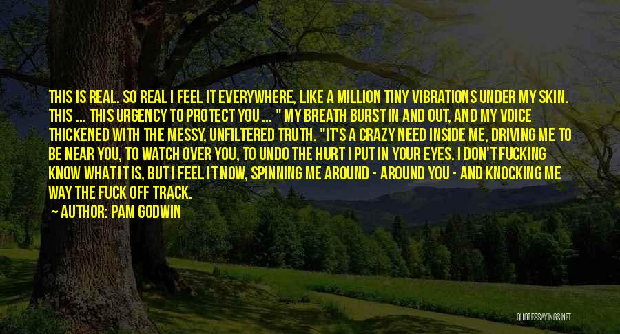 I'll Watch Over You Quotes By Pam Godwin