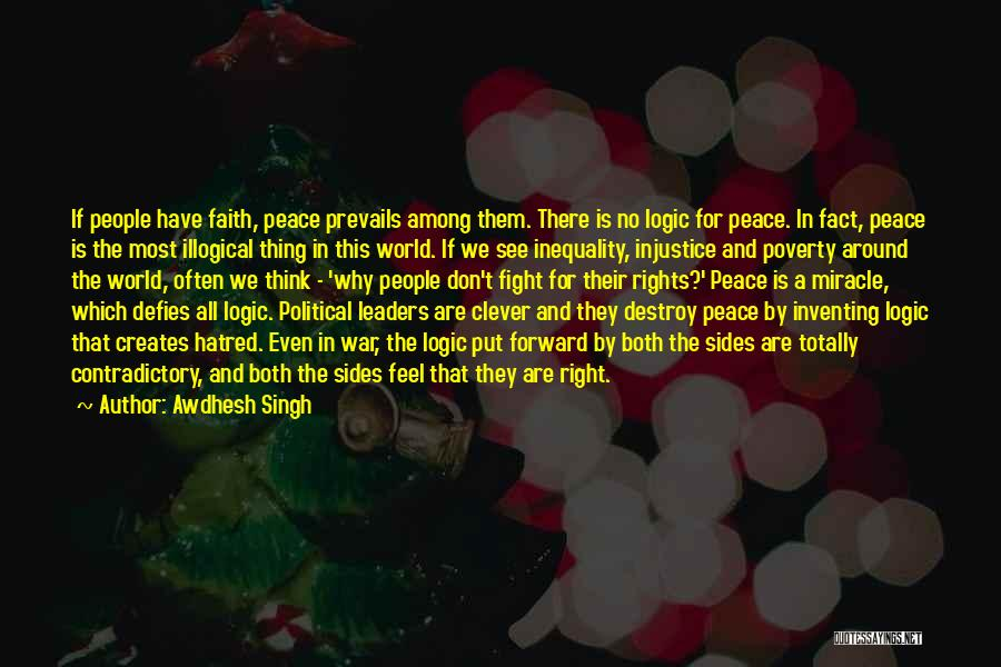 Illogical Quotes By Awdhesh Singh