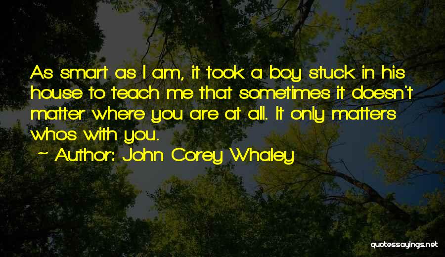Illogical Quotes By John Corey Whaley