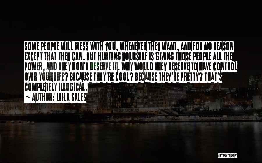 Illogical Quotes By Leila Sales