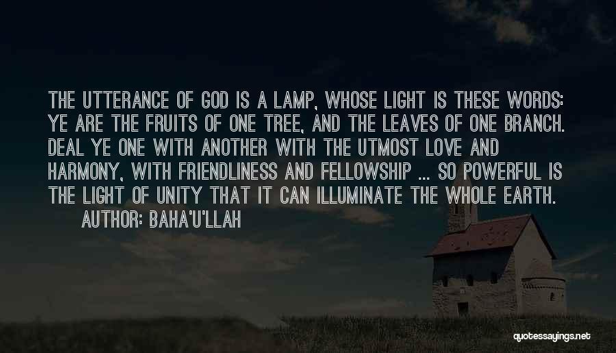 Illuminate Quotes By Baha'u'llah