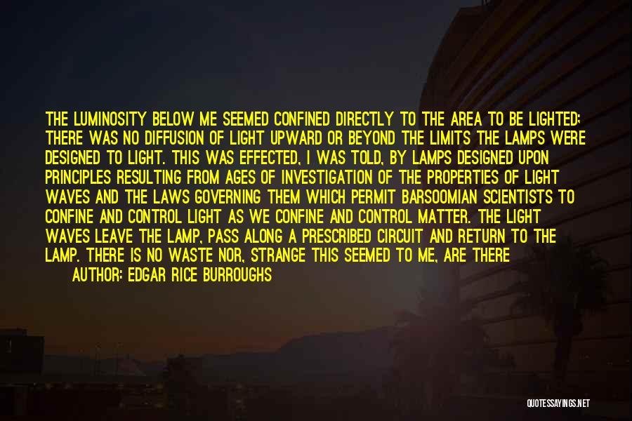 Illuminate Quotes By Edgar Rice Burroughs