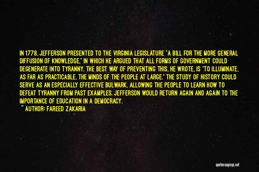 Illuminate Quotes By Fareed Zakaria