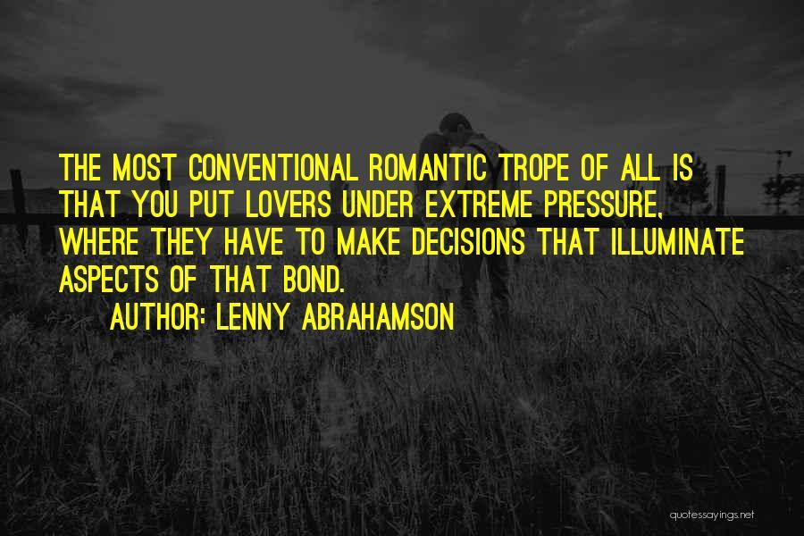 Illuminate Quotes By Lenny Abrahamson