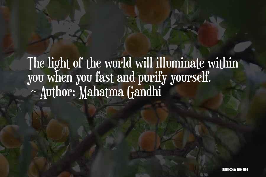 Illuminate Quotes By Mahatma Gandhi