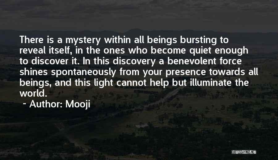 Illuminate Quotes By Mooji