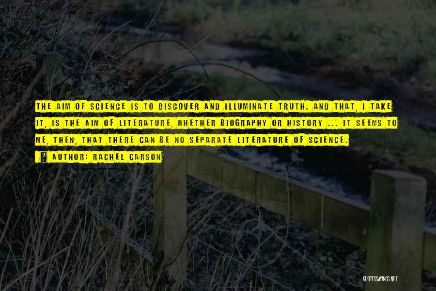 Illuminate Quotes By Rachel Carson