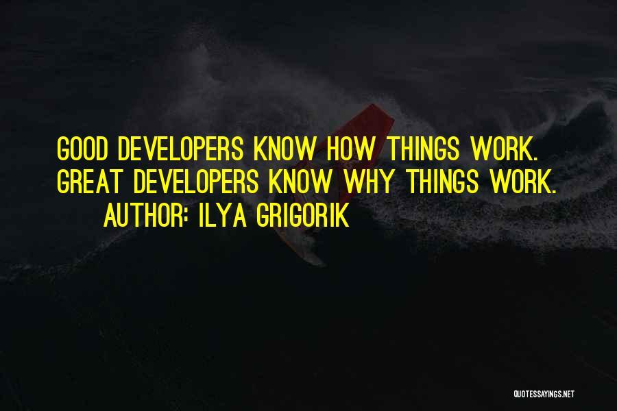 Ilya Grigorik Quotes 2143273