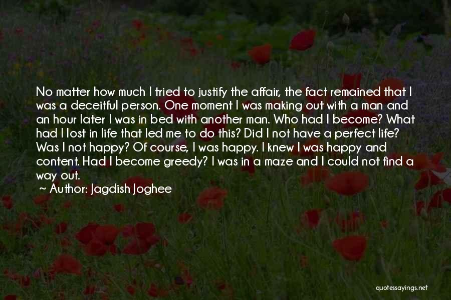 I'm A Happy Woman Quotes By Jagdish Joghee