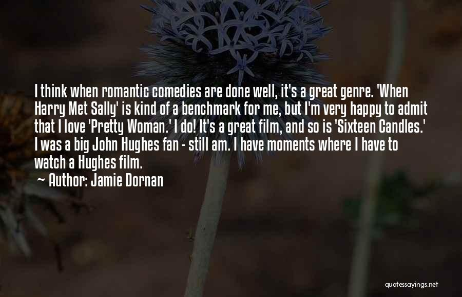 I'm A Happy Woman Quotes By Jamie Dornan