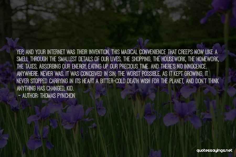 I'm A Kid At Heart Quotes By Thomas Pynchon