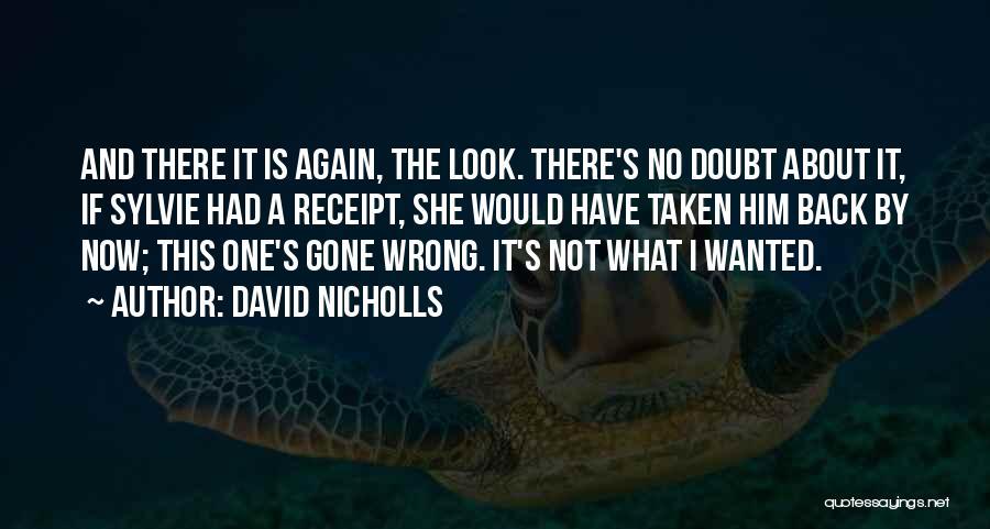 I'm A Love Failure Quotes By David Nicholls