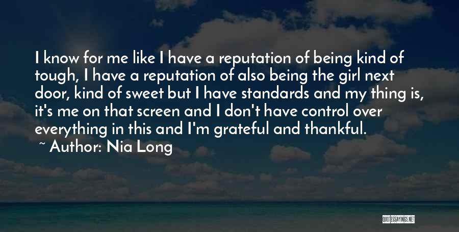 I'm A Sweet Girl Quotes By Nia Long