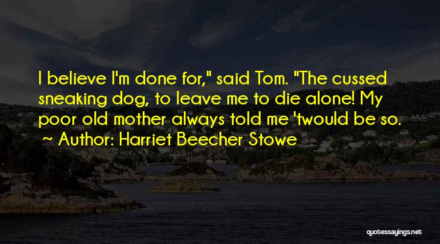 I'm Always Alone Quotes By Harriet Beecher Stowe