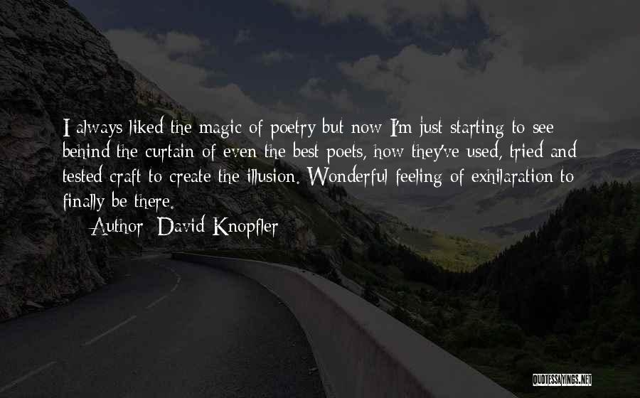 I'm Best Quotes By David Knopfler