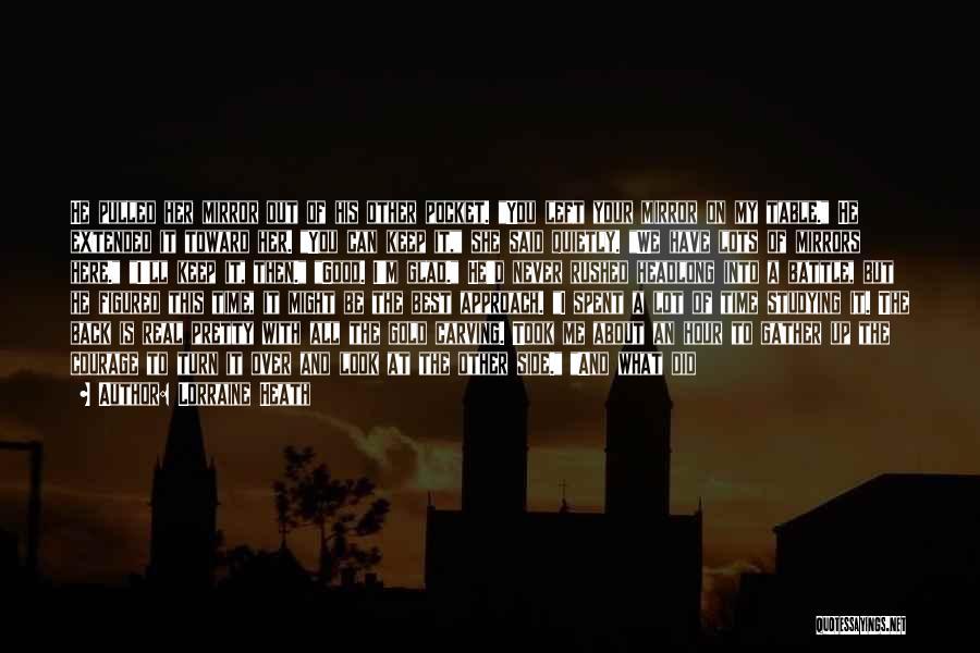 I'm Best Quotes By Lorraine Heath