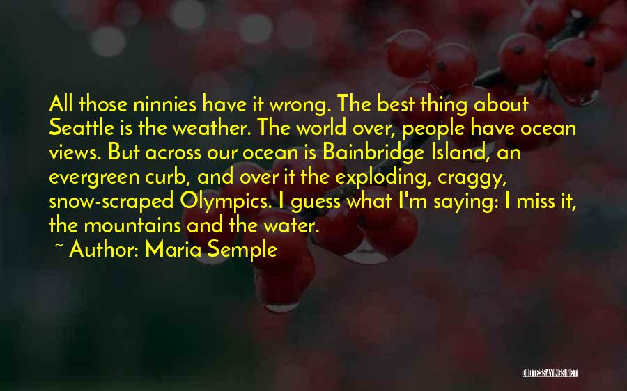 I'm Best Quotes By Maria Semple