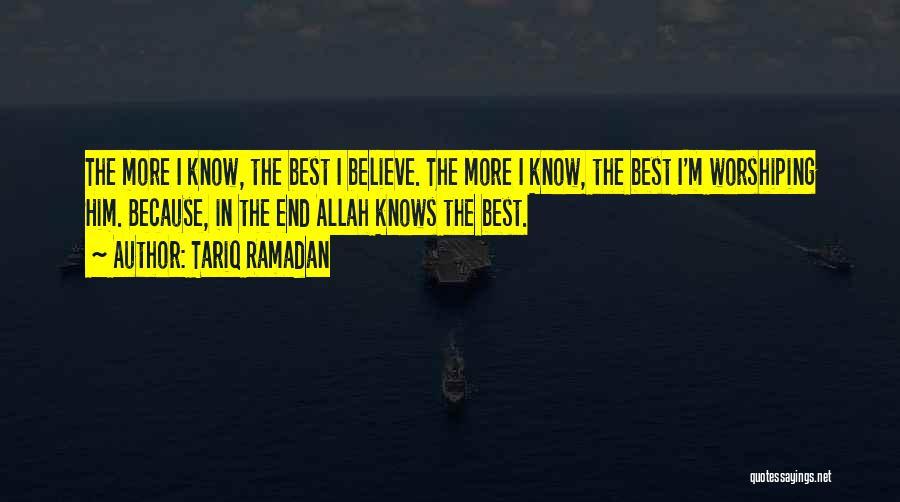 I'm Best Quotes By Tariq Ramadan