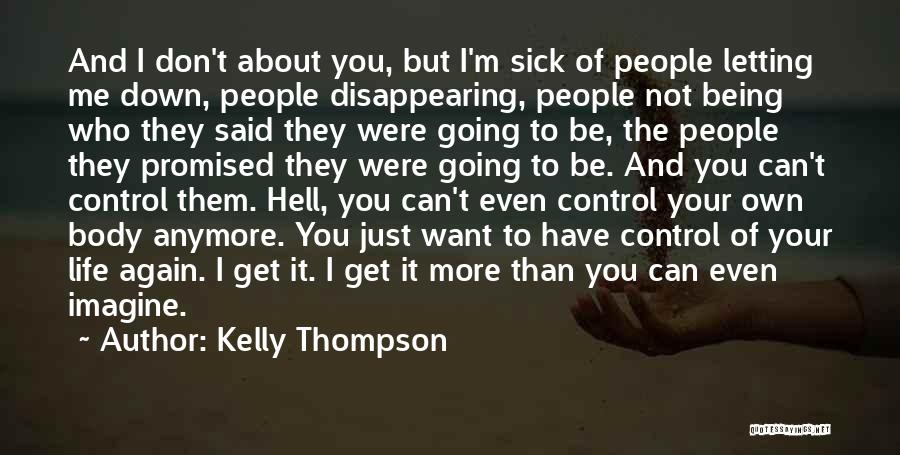 I'm Disappearing Quotes By Kelly Thompson