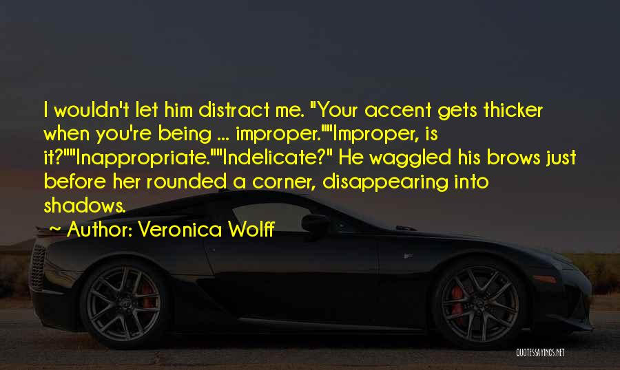 I'm Disappearing Quotes By Veronica Wolff