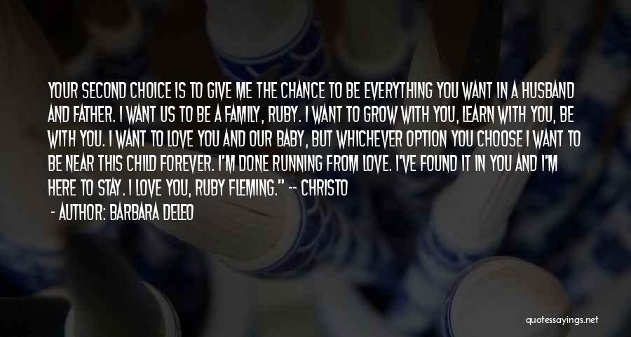 I'm Done Love Quotes By Barbara DeLeo
