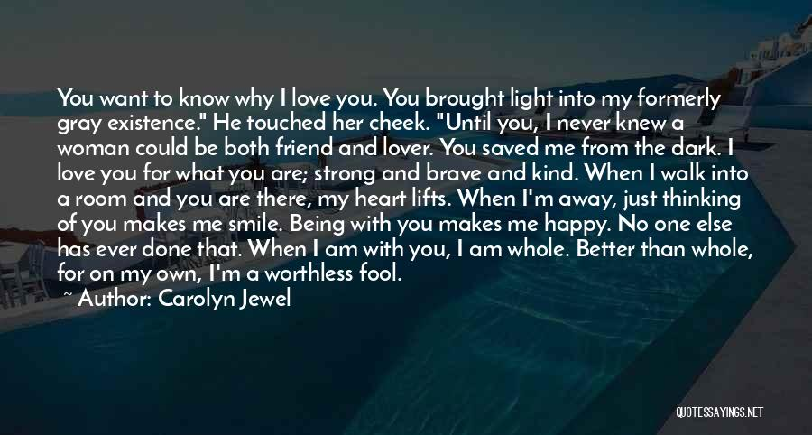 I'm Done Love Quotes By Carolyn Jewel