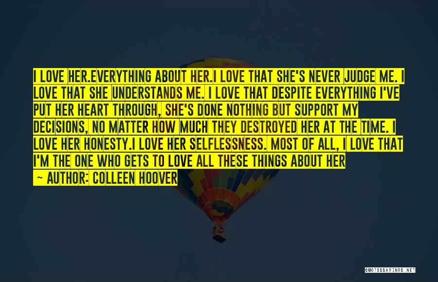 I'm Done Love Quotes By Colleen Hoover