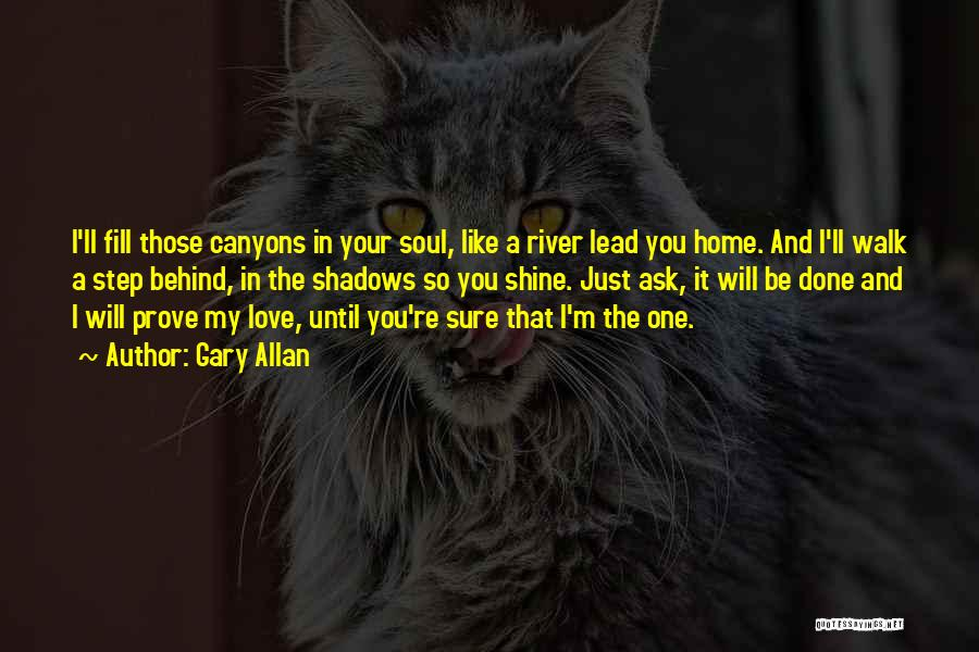I'm Done Love Quotes By Gary Allan