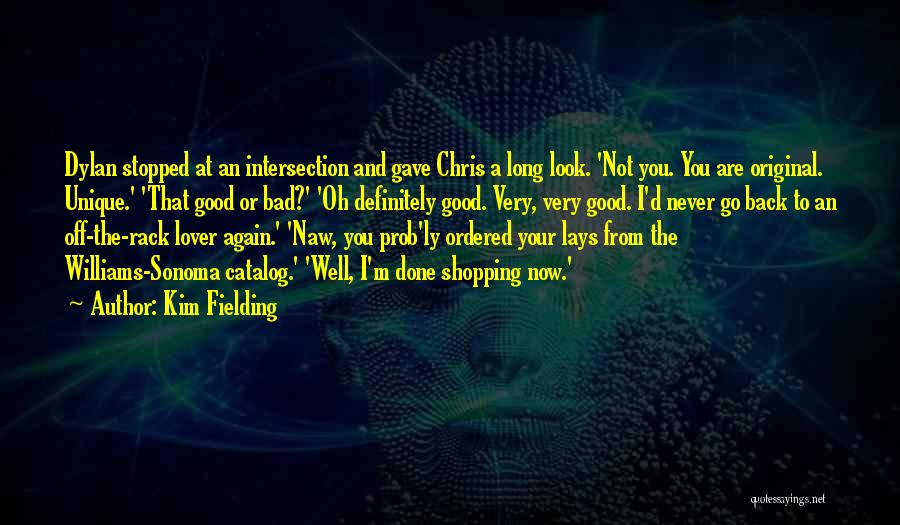 I'm Done Love Quotes By Kim Fielding