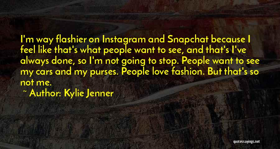 I'm Done Love Quotes By Kylie Jenner