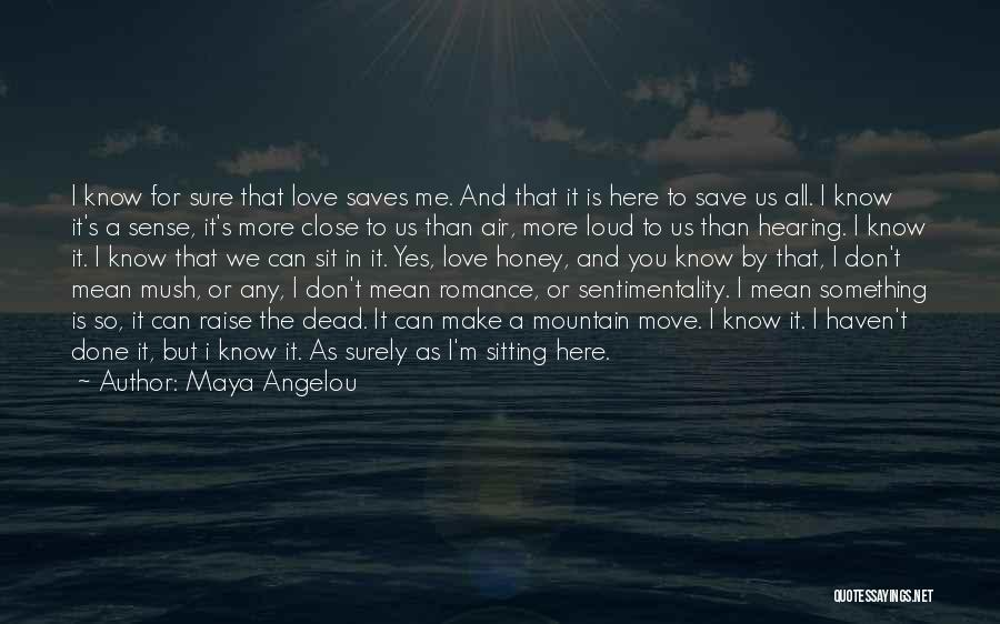 I'm Done Love Quotes By Maya Angelou